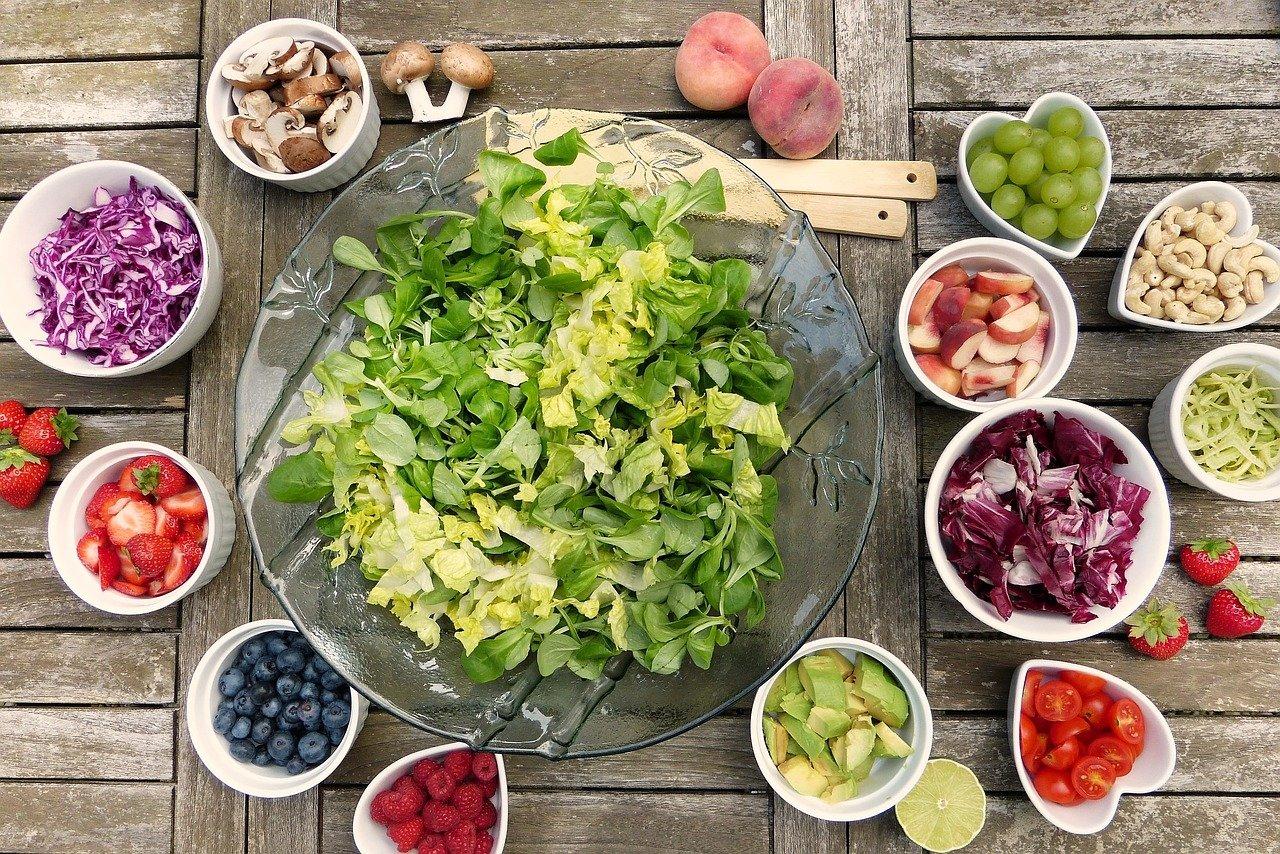 Płaski brzuch oraz zdrowa dieta.